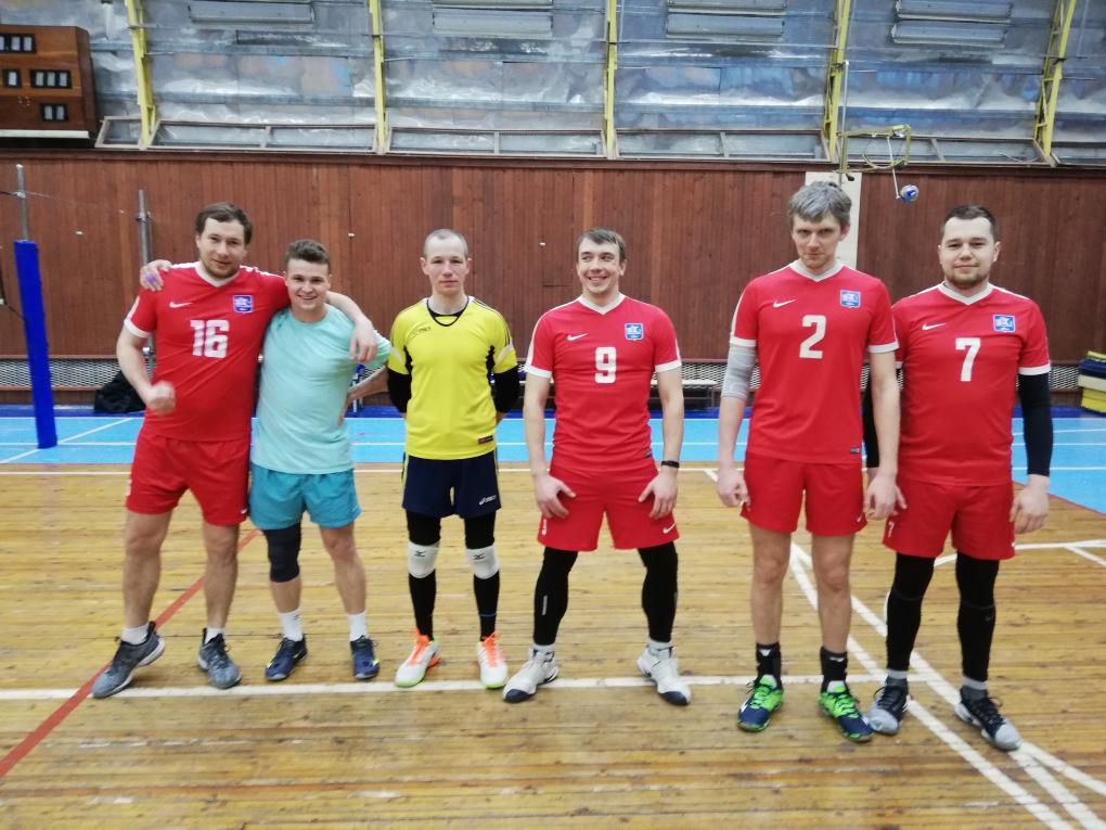 матчевая встреча волейбол февраль 2019 1