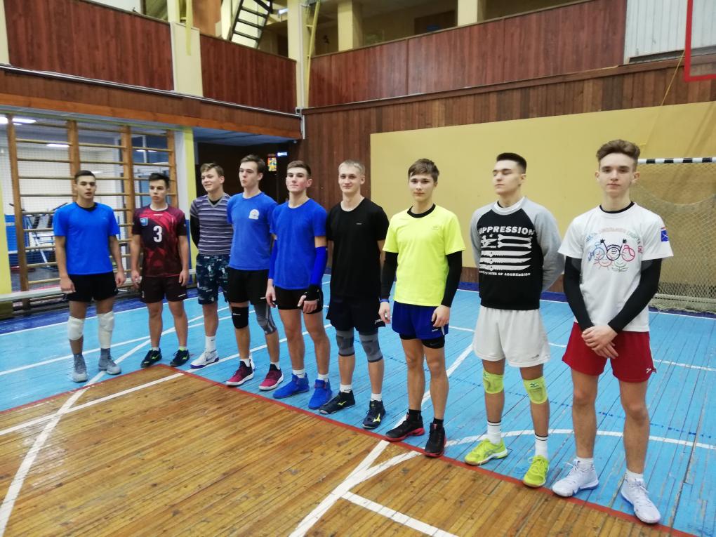 матчевая встреча волейбол февраль 2019 4