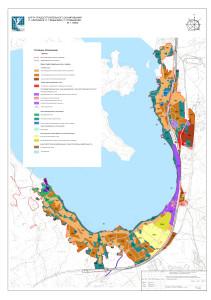 Карта градостроительного зонирования п.Ключевое, п. Глебычево, п. Прибылово