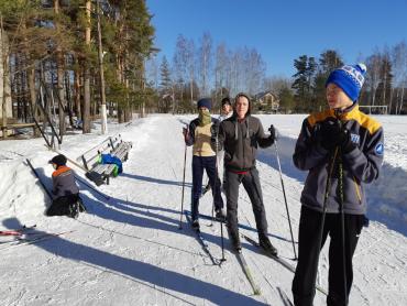 фото откр. перв. лыжи 1
