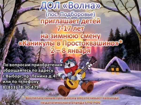 реклама зимней смены 2019